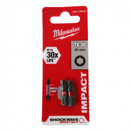MILWAUKEE 2 embouts -...