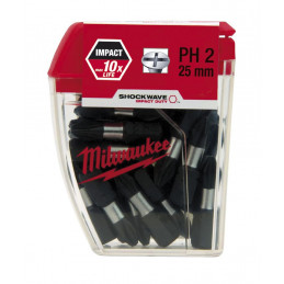 MILWAUKEE 25 embouts PH2 -...