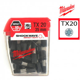 MILWAUKEE 25 embouts...