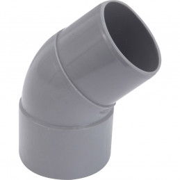 Girpi Coude PVC M/F 45° -...