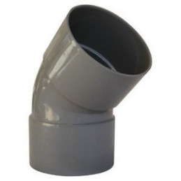 Coude PVC F/F 45° -...
