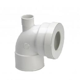 Girpi Pipe courte WC 90° Ø...